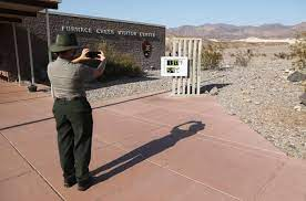 The temperature in Death Valley has ...