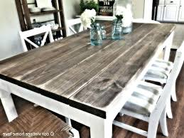 distressed white dining table set vintage wood black room round and distressed round dining table distressed