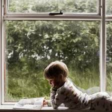 Image result for children reading by a window