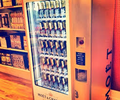Hotel Dusk Vending Machine Awesome Moet Chandon Unveils Champagne Vending Machines