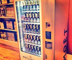 Moet Vending Machine For Sale Interesting Moet Chandon Unveils Champagne Vending Machines