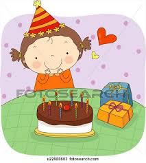 girl birthday cake clip art. Delighful Birthday Little Girl Birthday Cake Clipart 1 Intended Clip Art B