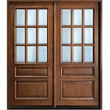 front door wood and glass front door wood and glass exterior wood door glass panels front
