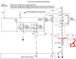 evo fuse box diagram evo image wiring diagram fuel pump wire high low voltage circuit page 12 on evo fuse box diagram