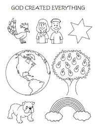 Search through 51968 colorings, dot to dots, tutorials and silhouettes. Bible Coloring Page For Sunday School God Created Everything
