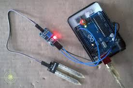 arduino soil moisture sensor module circuit soil moisture sensor experiment