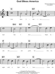 God Bless America Chord Chart 22 Expert God Bless America Chord Chart