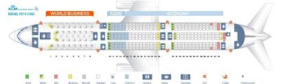 787 Dreamliner Seating Chart Seat Map Boeing 787 9 Dreamliner Klm Best Seats In The Plane