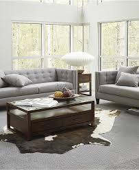 Macys Living Room Furniture Braylei Track Arm Sofa Collection Furniture Macys Home