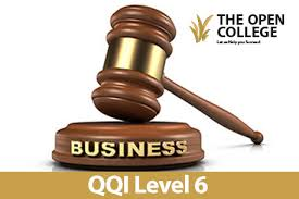 Business Law Business Law Qqi Level 6