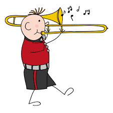 playing cartoon trombone cartoon drawing at getdrawings com free for personal use