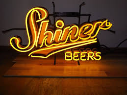 Shiner Neon Light L K Shiner Beer Neon Light Up Sign Game Room Man Cave