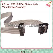10 pin flat cable wire harness 1 27mm flat cable wire harness 10 pin flat cable wire harness 1 27mm flat cable wire harness ul2651 28awg