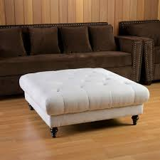 ... Coffee Table, Incredible White Square Modern Fabric Coffee Table Ottoman  Ideas: Terrific Coffee Table ... Home Design Ideas