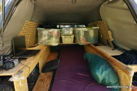 Truck Camping Outfitting and Living in the Back of a Pickup