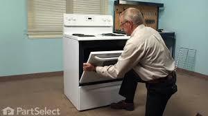 range stove oven repair replacing the inner oven door glass frigidaire part 316088600 you