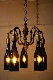 top 51 fabulous wine bottle chandelier kit modern chandeliers wagon wheel diy lamp large size of