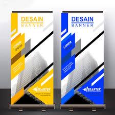 Desain Banner 990 Jasa Desain X Banner Kuning