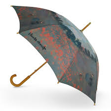 cascada collection claude monet poppy fields walking umbrella umbrella world