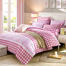 appealing checks and stars cotton bedding set 1 600x600 appealing checks and stars cotton bedding
