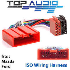 toyota iso wiring harness stereo radio plug lead wire loom mazda ford iso wiring harness adaptor cable connector lead loom plug wire app072