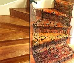 rugs staircase runner before after comparison oriental stair wool