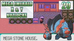 Mega Stone House - Part 20 - Pokemon Mega Emerald X & Y Nuzlocke - YouTube
