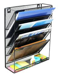 magazine racks for office. Office Magazine Holders Mesh Wall Mounted Hanging Document File Organizer 5 Compartment Vertical Rack . Racks For