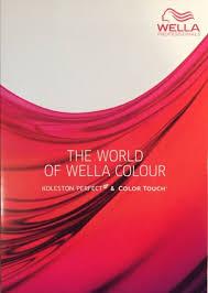 Wella Online Colour Chart Wella Professionals Koleston Color Touch Colour Chart 2019