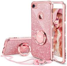iPhone 6 6s Case, Glitter Cute Phone ...