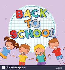 ritorno a scuola Immagine e Vettoriale - Alamy