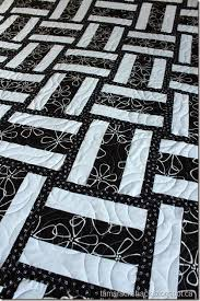 40 Easy Quilt Patterns For The Newbie Quilter & Pedal to the Metal in Black and White Adamdwight.com