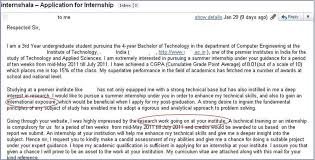 India Summer Internship Cover Letter 9 Internshala Blog