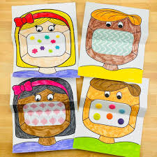 Color the pictures online or print them to color them with your paints or crayons. Mask Coloring Art For Kids Hello Wonderful