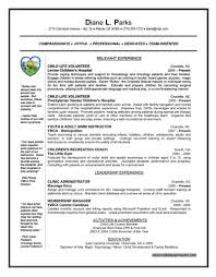 Resume Example Resume Templates For Kids 2016 Child Care Resume
