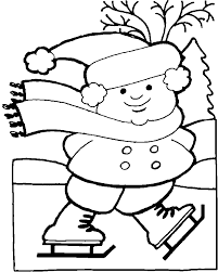 Small Picture Winter Clothes Coloring Page Coloring Home
