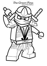 Kleurplaten Lego Ninjago Lloyd