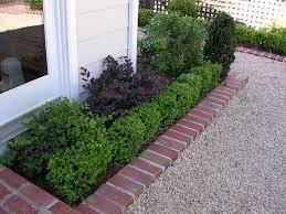 wooden garden edging best of boxwood brick gravel edge garden of wooden garden edging wooden