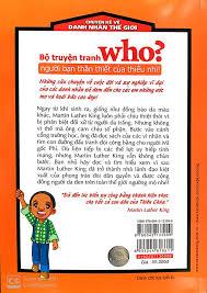 Sách Who? Chuyện Kể Về Danh Nhân Thế Giới: Martin Luther King (Tái Bản  2019) - FAHASA.COM