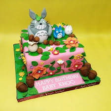 Best Kl Hand Sculptured My Neighbor Totoro Character Cake Kljb