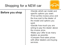 Invoice Pricing Cars Dealer Invoice For New Cars New Car Dealer