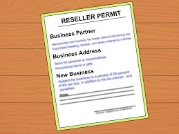 How To Get A Resale Number 8 Steps With Pictures Wikihow