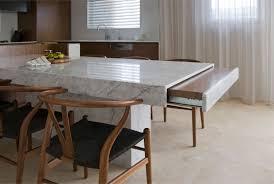 granite kitchen table round