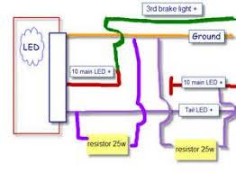 led tail light wiring diagram lighting Bliss Light Wiring Diagram wire led trailer light wiring also led tail light wiring diagram Two Light Wiring Diagram