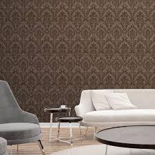 Os tons claros são instalados em nossos interiores. Papel De Parede Vintage Avela Decoratons