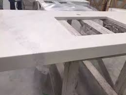 calacatta white quartz stone countertop