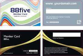 Membership Card Templates Barca Fontanacountryinn Com