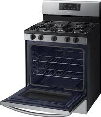 samsung stove with griddle. freestanding gas range in stainless steel samsung nx58k3310ss - the large interior can easily accommodate a big roast, multiple casserole dishes stove with griddle g
