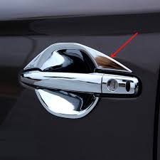 for mitsubishi outlander 2018 2018 chrome door handle bowl cup cover trim protectors car accessories also
