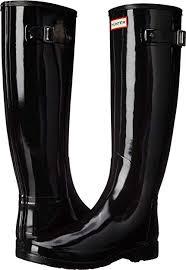Hunter Shoe Size Chart Hunter Womens Original Refined Gloss Rain Boots